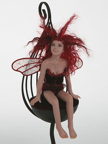 Amaretta fairy sculpture