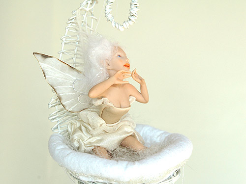 Catherine fairy sculpture