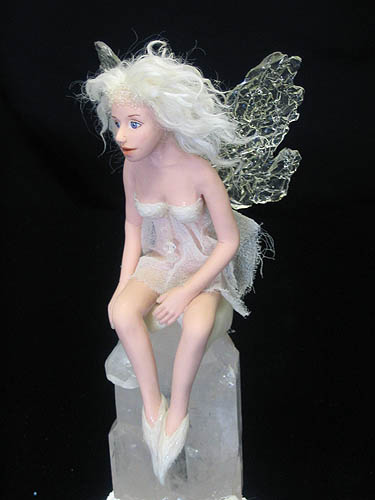 Crystal fairy polymer clay