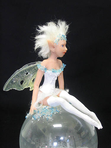 Luna Sileas polymer clay mini fairy