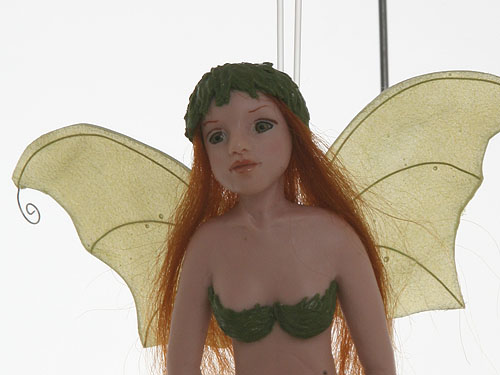 Saraja fairy sculpture polymer clay