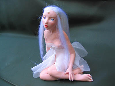 Tyra fairy doll sculpture
