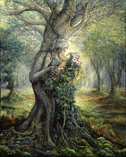 dryad and treespirit